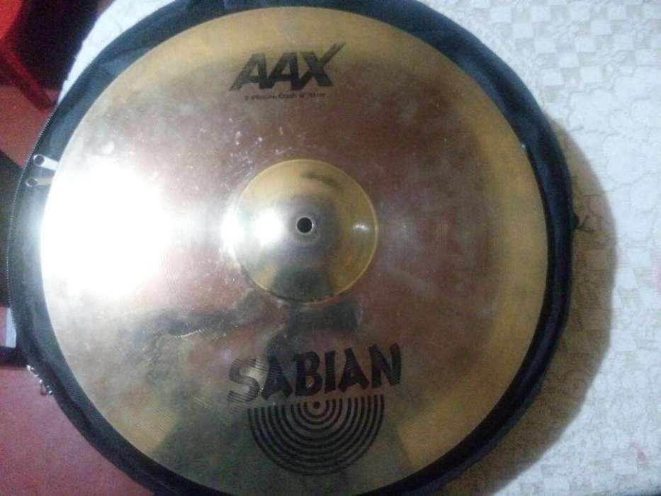 Platillo Sabian Aax