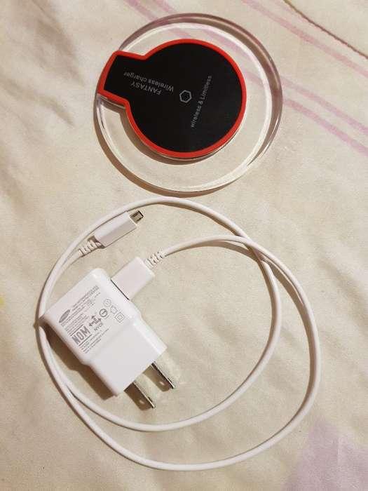 Cargador Inalámbrico S6, S7, S8, S9
