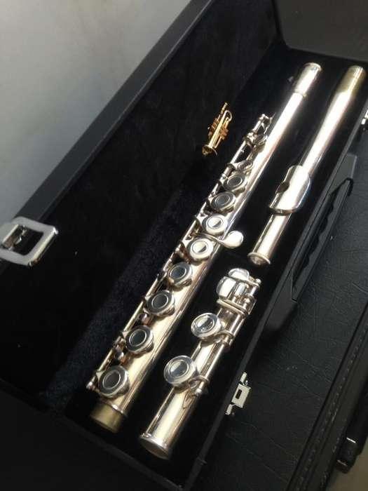 flauta traversa selmer bundy americana