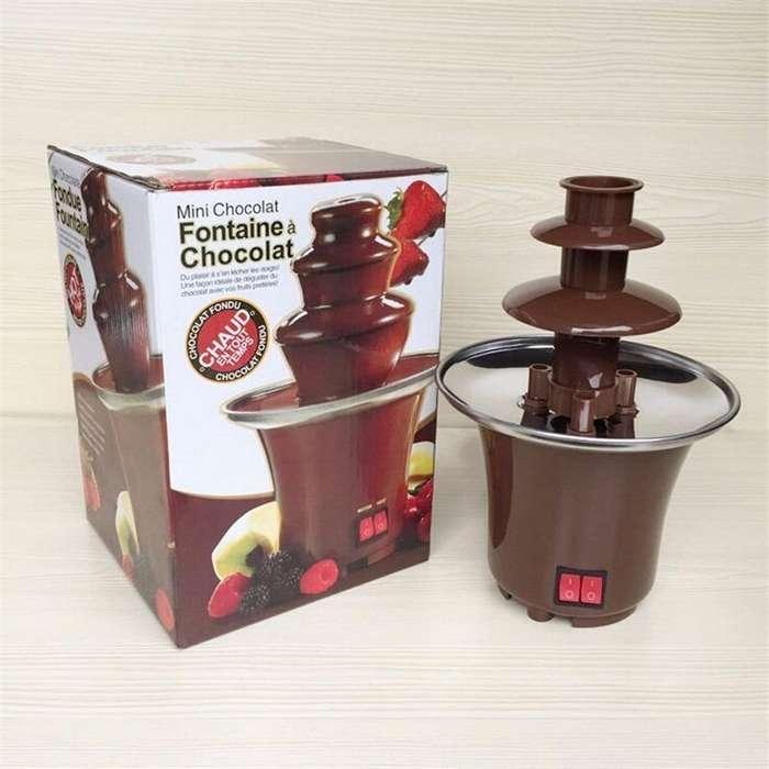 Fuente De Chocolate De 3 Niveles Mini Fontaine Acero Inoxida nueva 3138152836