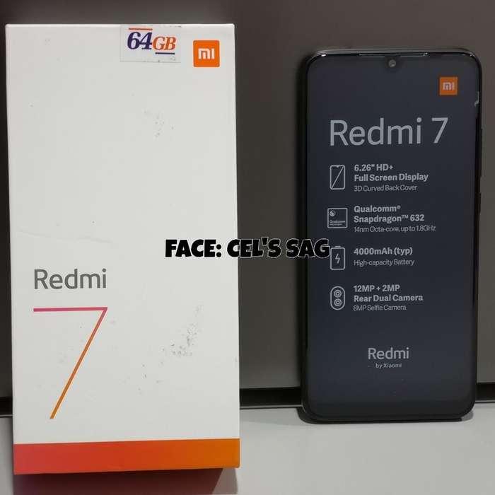 XIAOMI REDMI 7 NUEVOS 64GB. ACEPTO CELULAR Y EFECTIVO !!