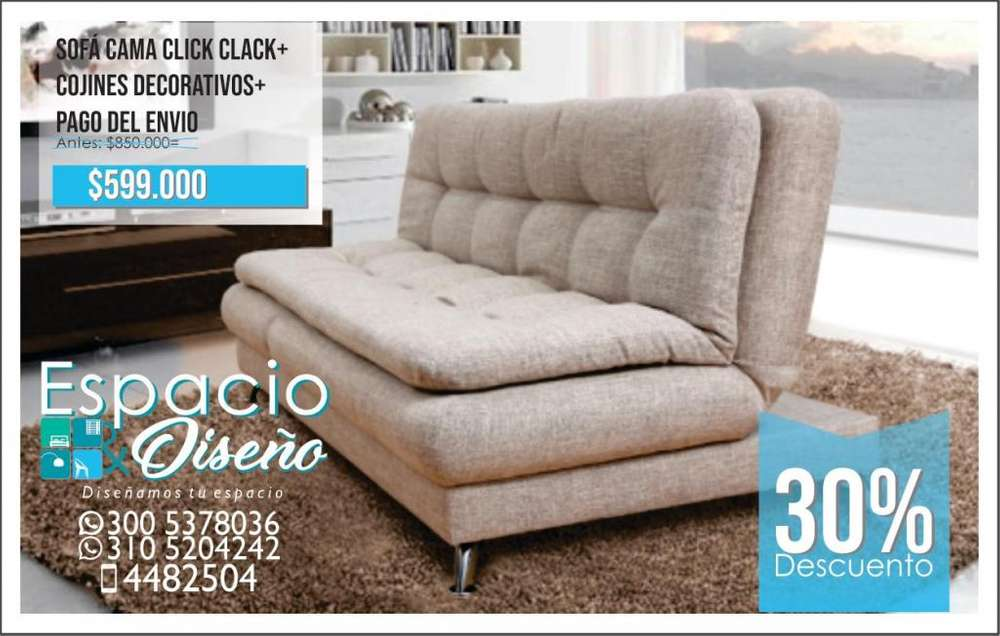 Sofa Cama Cojines decorativos Pago para Envio