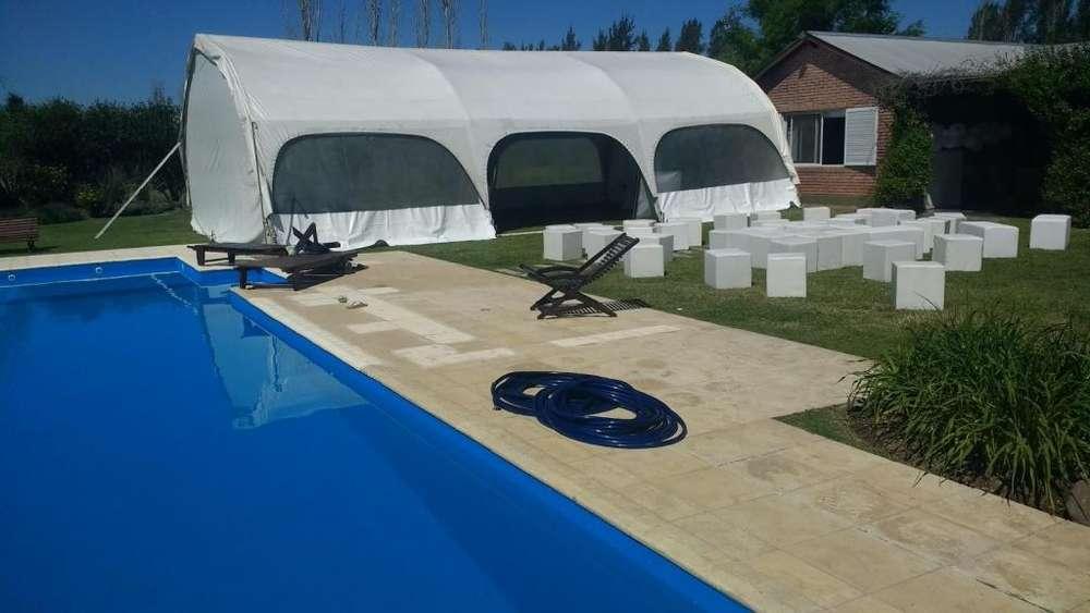 carpas alquiler- ambientacion y decoracion para fiesta- carpas living party- tel 155823067