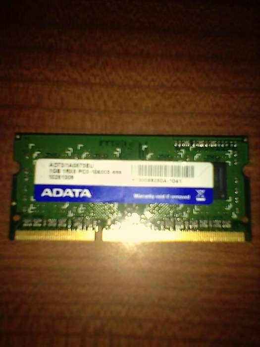 RAM DDR3 sodim 1 Giga NET/notebook 3412178779