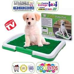 Tapete Tv Entrenamiento Perros Baño, Puppy Potty Pad, o Grande Potty Pach, Nuevos, Originales, Garantizados...