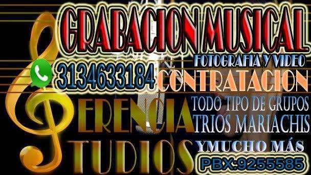 ESTUDIO DE GRABACION MUSICAL VIDEO Y PROMOCION DE ARTISTAS