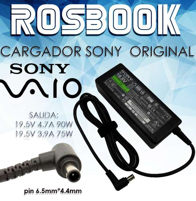 Cargador Notebook Sony So24 Vgpac19v31 Vgpac19v27