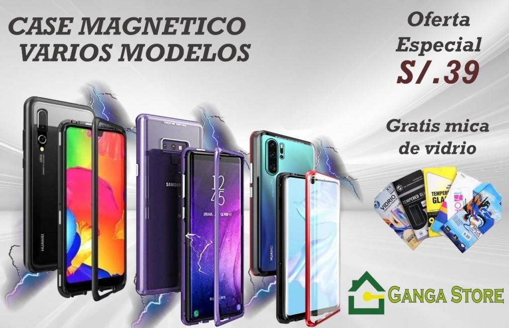 Cases magneticos modelos variados Huawei, Xiaomi, Samsung
