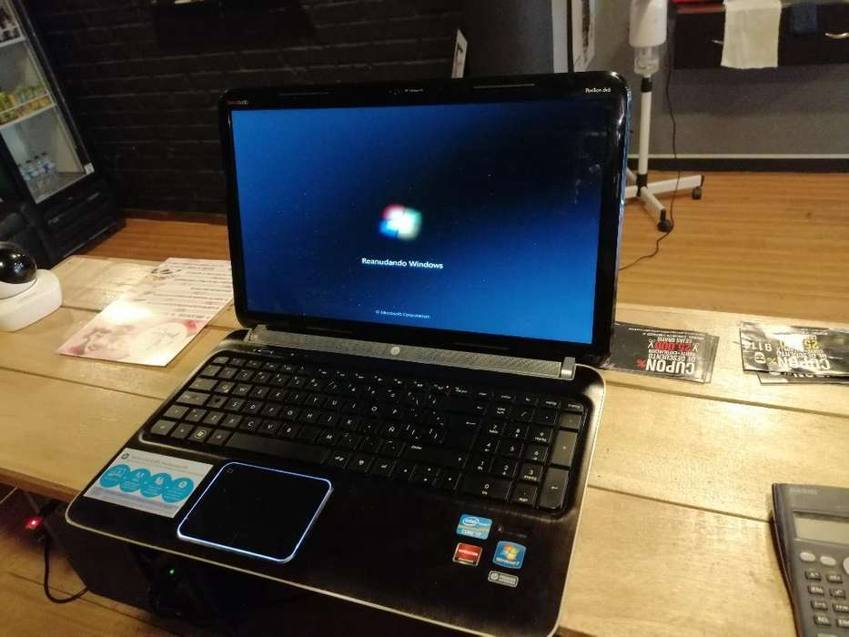 Portatil Hp Core I7 3ar 8 Ram Perfecto E