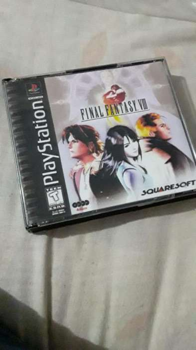 Play Station One 1 Final Fantasy Cambio