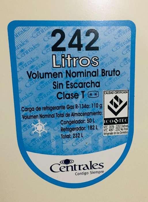 Nevera Centrales 242 Lt