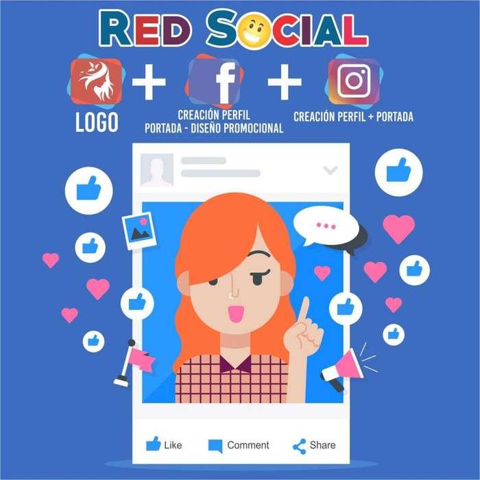 Fan Page Redes Diseño y Publicidad De Redes Sociales, Creación, Facebook, Instagram Logos y Pautas Diseños