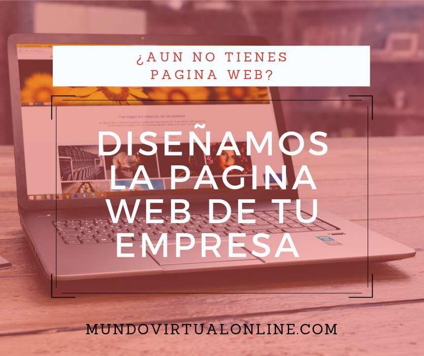 Diseñamos la página web de tu empresa