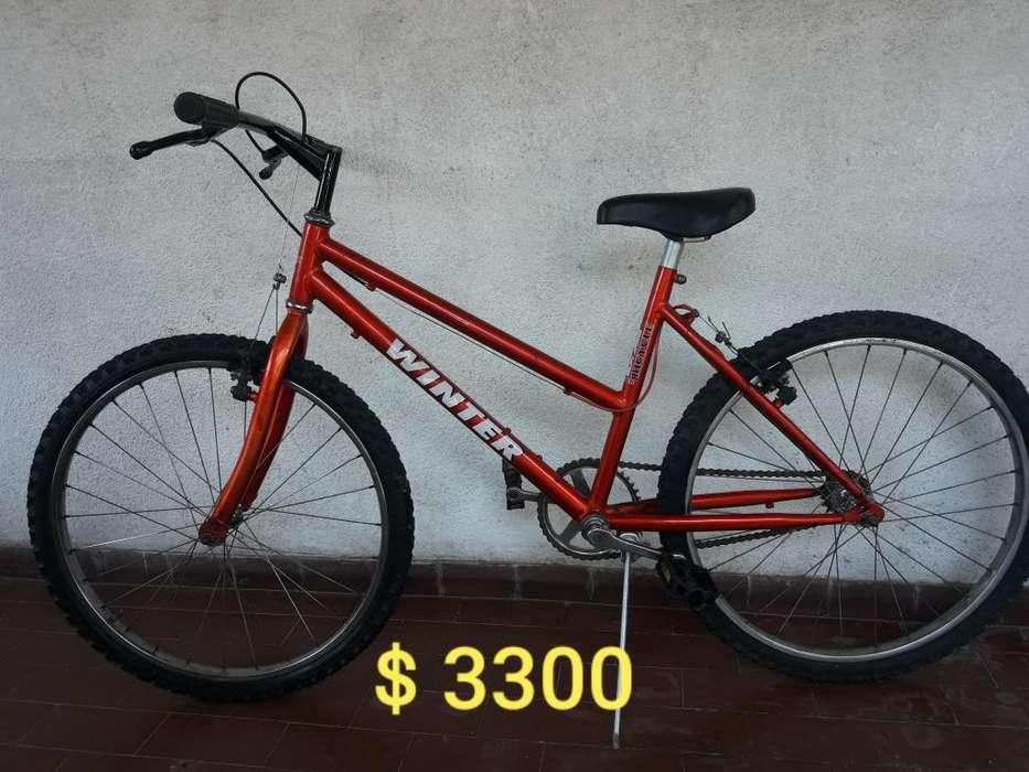 Bicicleta rod 24 IMPECABLE Escucho ofertas