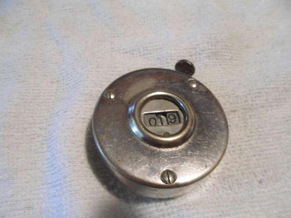 Cuenta ganado funciona perfecto todo metal estimo 1800-1910