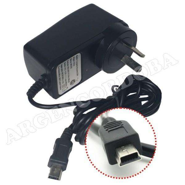 CARGADOR CONECTOR MINI USB LED INDICADOR 800MAH