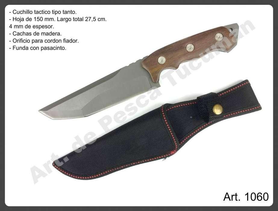 Cuchillo tactico tipo tanto. Art. 1060. Caza, pesca, camping.