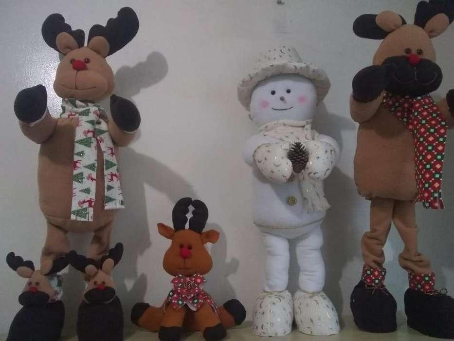 Muñecos para Navidad Miden 90 Cm