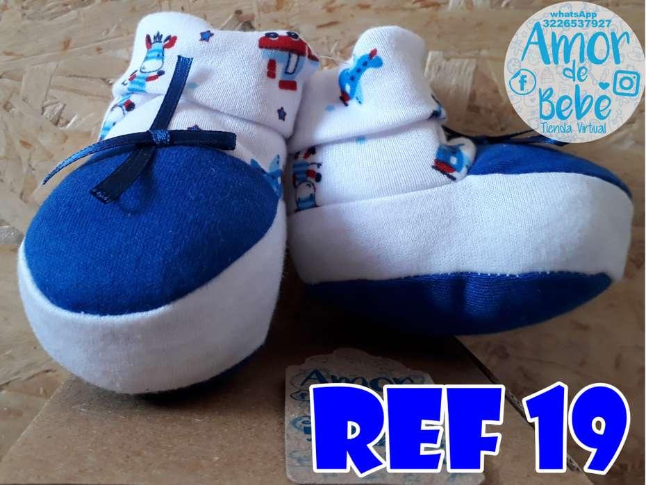 zapato algodon bebe