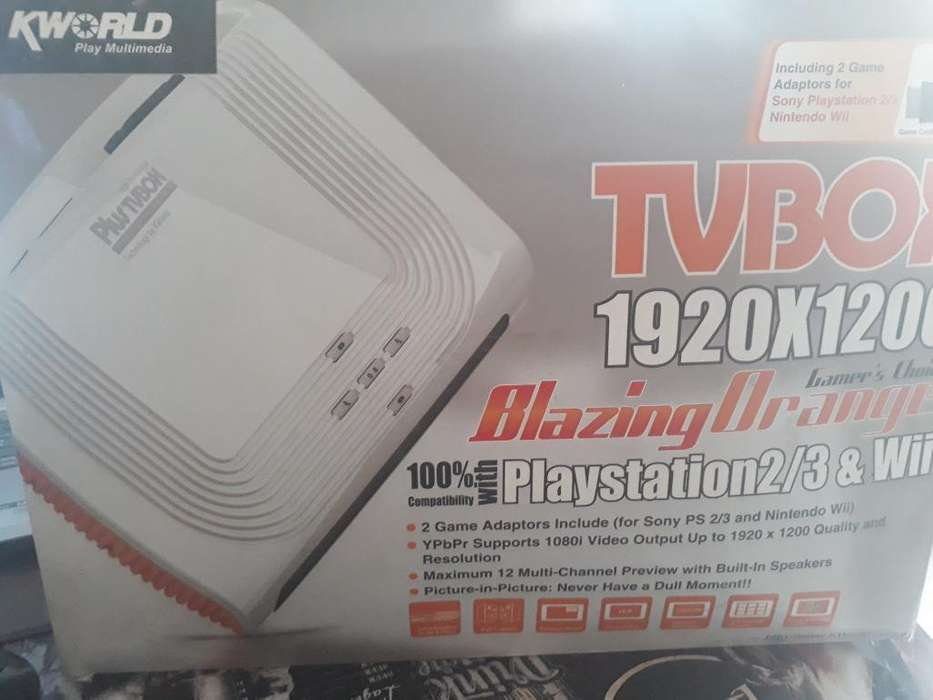 Vendo Tvbox Conversor de <strong>monitor</strong> Pc a Tv