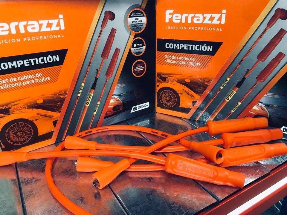 CABLES DE BUJIA COMPETICION FERRAZZI