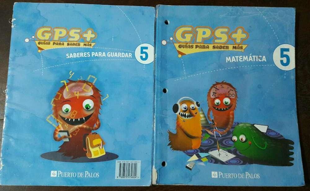 Gps Guias para Saber Mas 5 Matematica