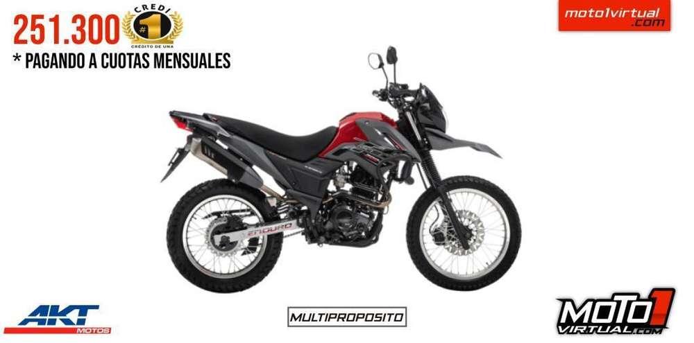 AKT TTR 200 2020. <strong>nueva</strong> ES <strong>nueva</strong>!!! CRÉDITO FÁCIL!