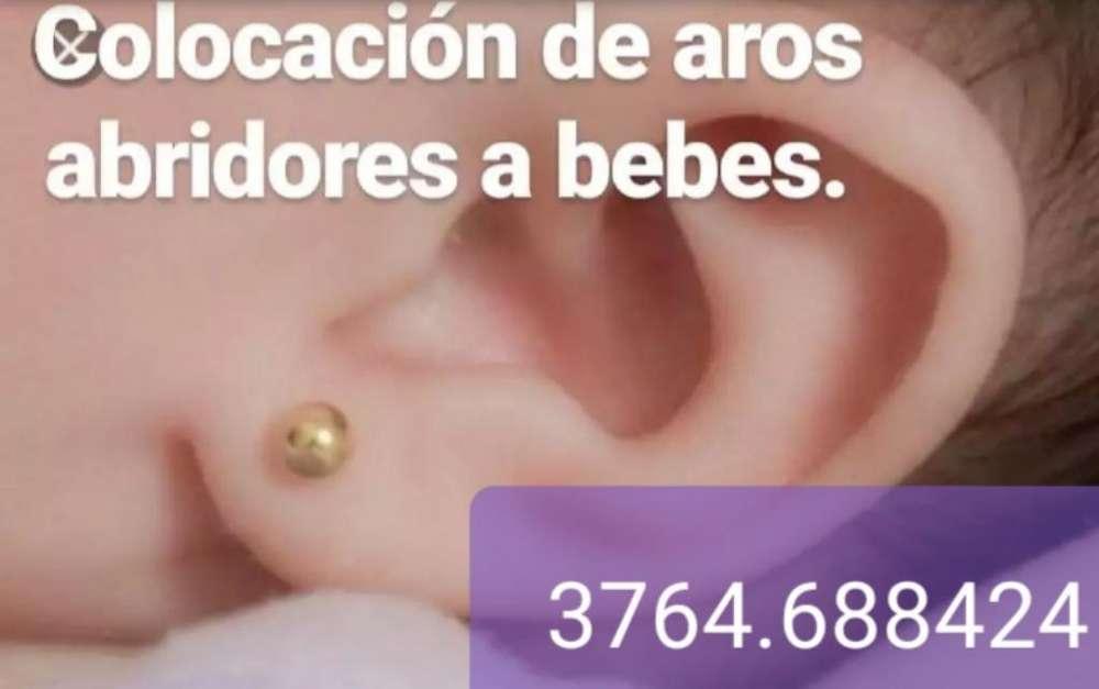 Colocacion Aritos Bebes