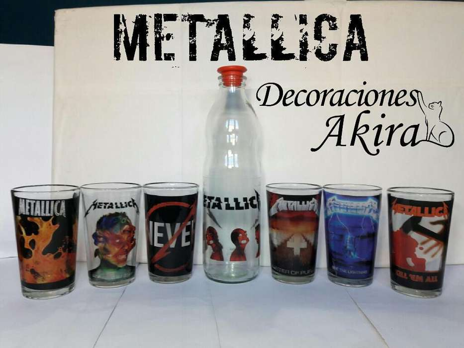 Metallica Regalos <strong>decoraciones</strong> Akira