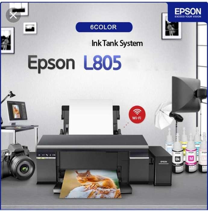 Impresora Epson L805 de Segunda