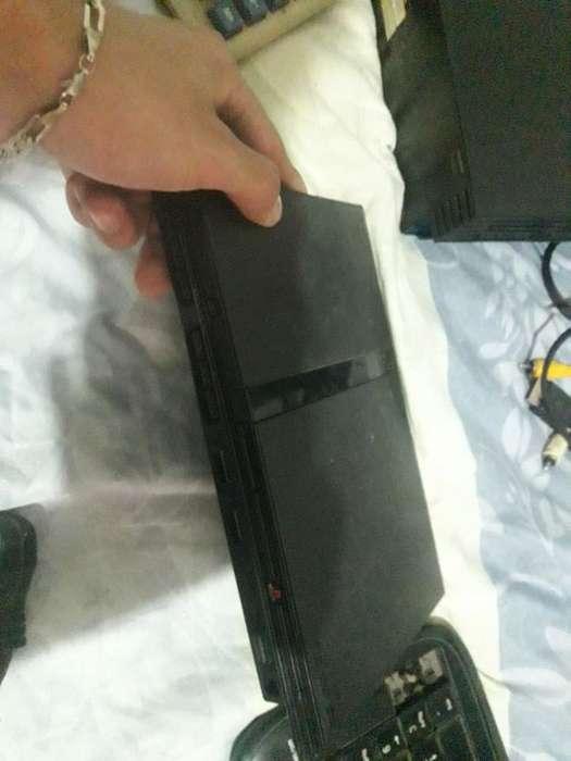 Ps2 Slim Funciona Cables Y Juegos