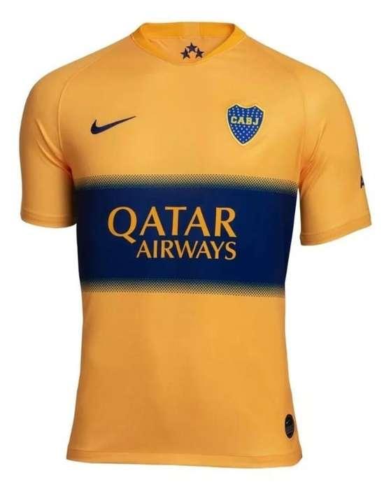 Camiseta Suplente Boca Junior