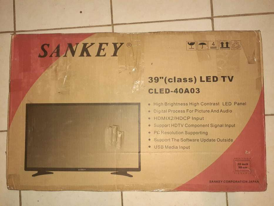Tv Lcd Led Sankey de 39