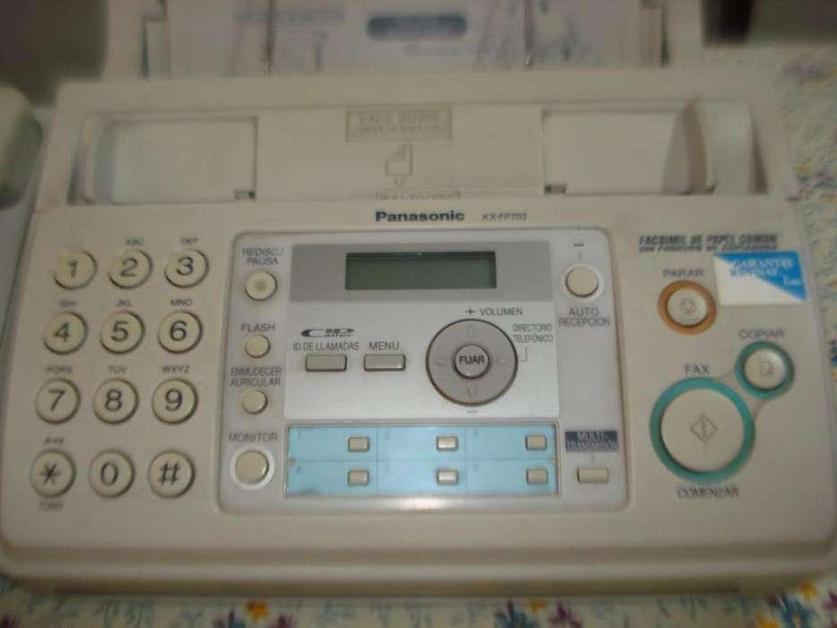 Venta de <strong>fax</strong> Panasonic Kxfp703ag En excelente estado