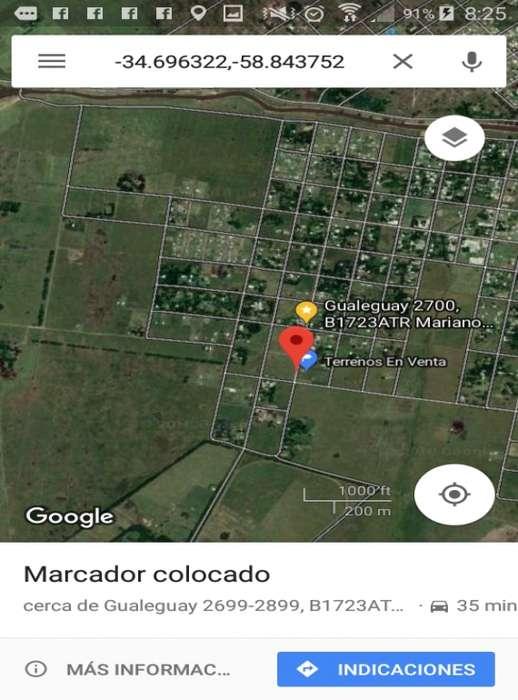 Excelente terrenos de 600 m2 en Merlo, Buenos Aires