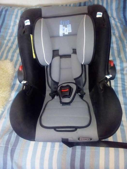 vendo silla de bebe para auto ergo original (en remate)