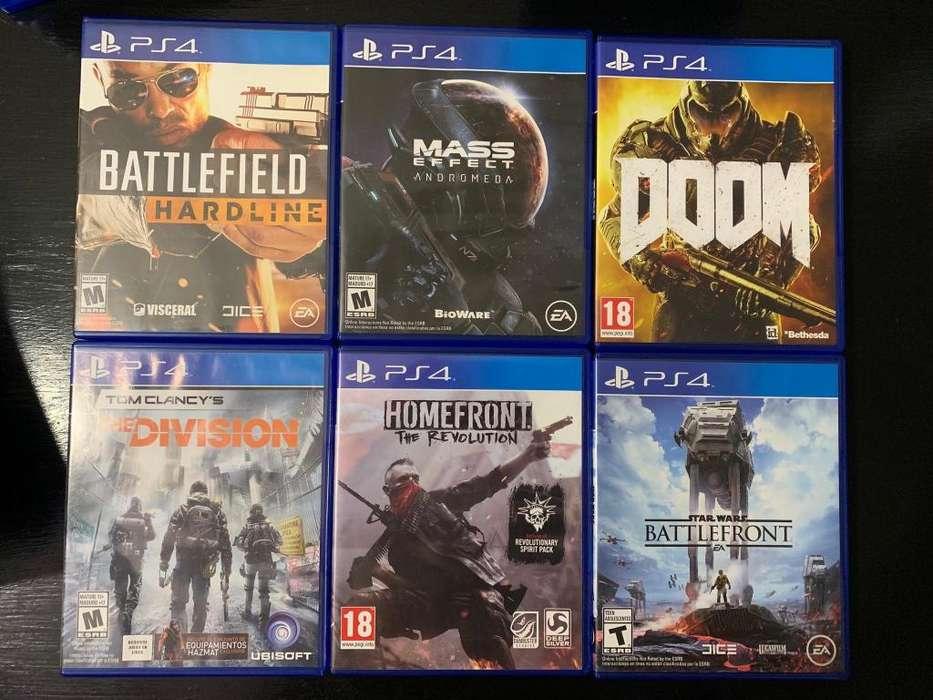 Juegos PS4 varios