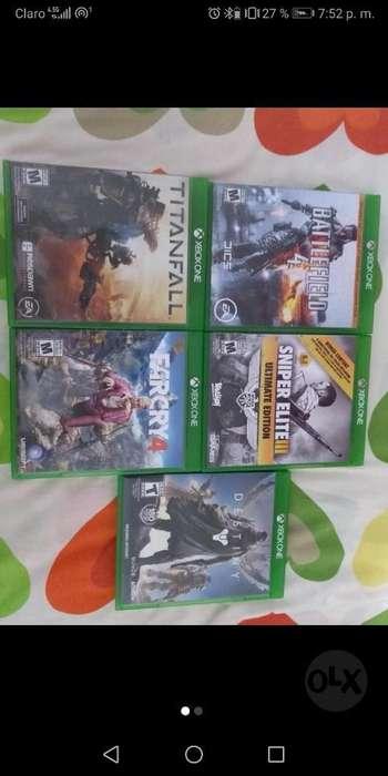 Vendo Juegos de Xbox One Originales