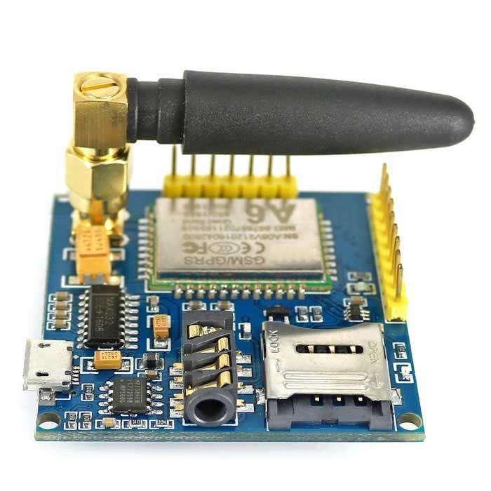 Modulo Gsm Gprs A6 Sim 900 Arduino