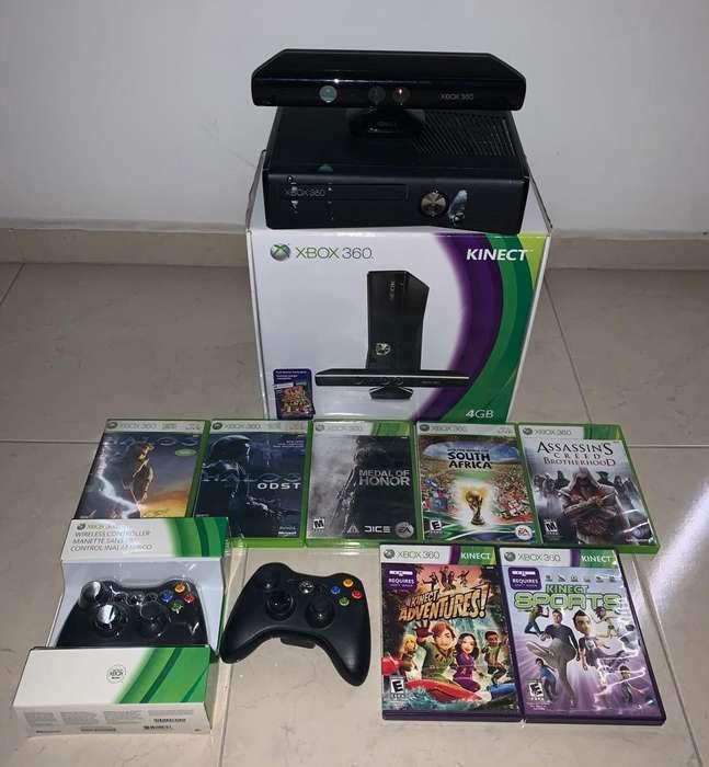 Xbox 360 Kinect 2 Controles 7 Juegos