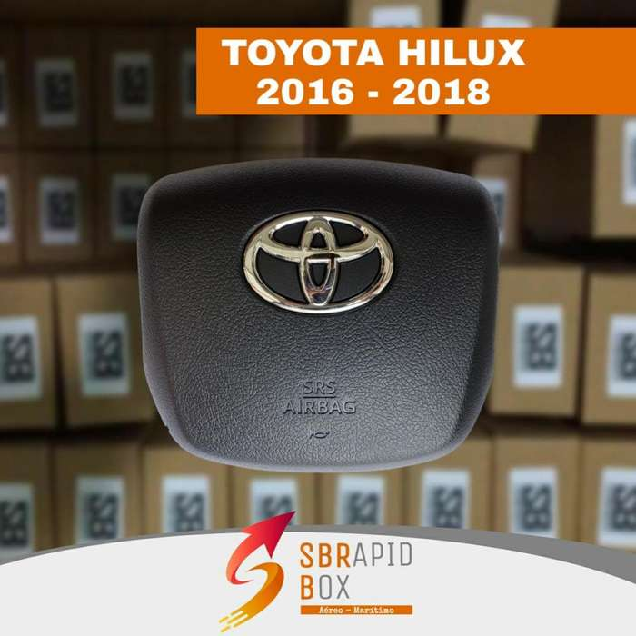 AIRBAG COVER TAPA TOYOTA HILUX 2016 2017 2018 DAVID