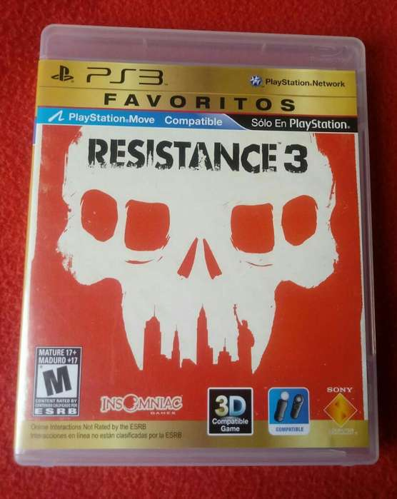 Ps3 Juego Play 3 Resistance3