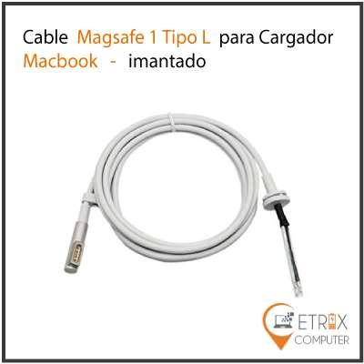 CABLE DE REPUESTO CARGADOR MACBOOK PRO AIR MAGSAFE 1, 2 NUEVOS DE CALIDAD