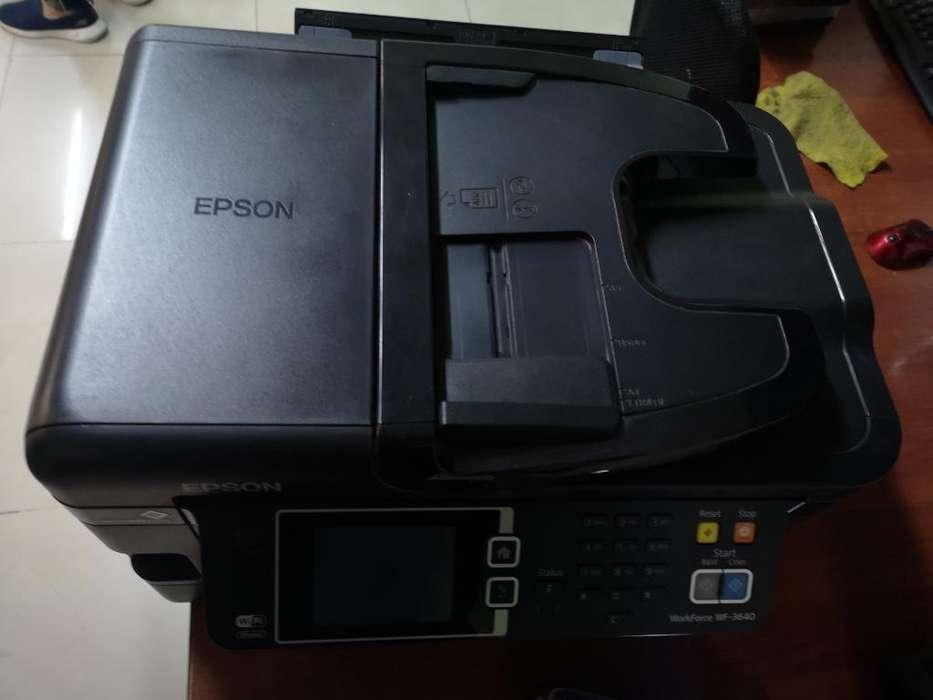 <strong>impresora</strong> Multifunción Wifi Epson Wf5670