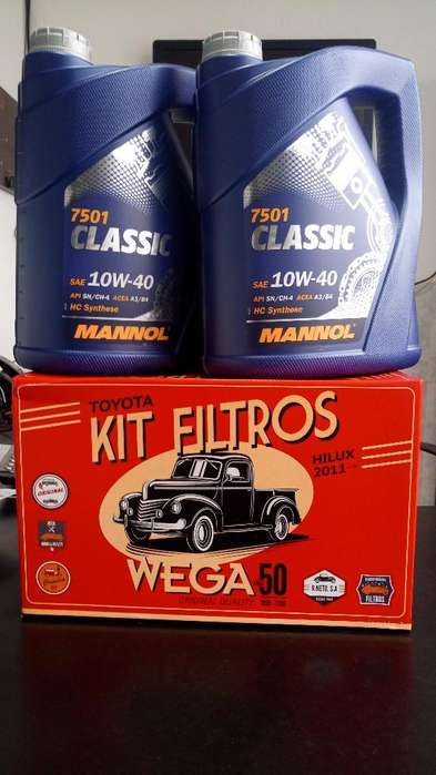 Aceite Y Filtros para <strong>toyota</strong> Hilux