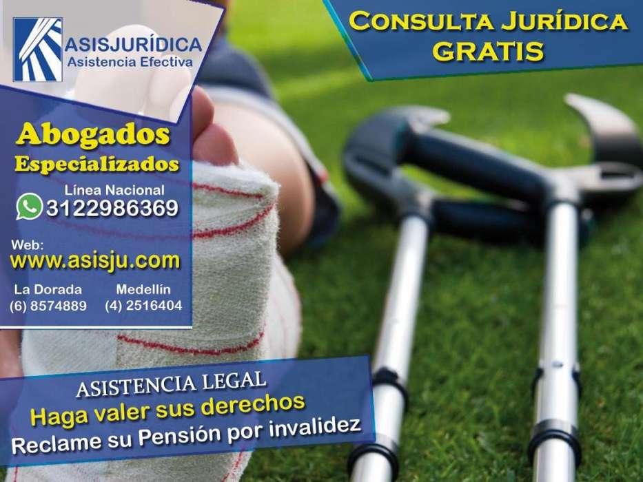 Abogados especialistas en pensiones de Invalidez, tramite, asistencia, asesoría o consultorio jurídico