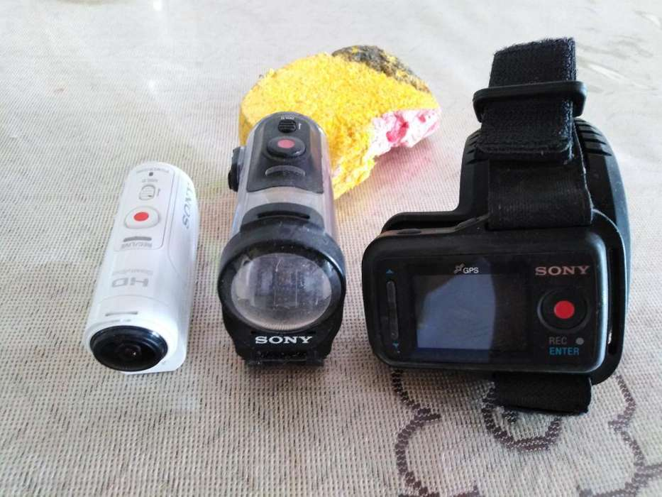 Vendo Cámara Sony Action Mini Camhdr-az1