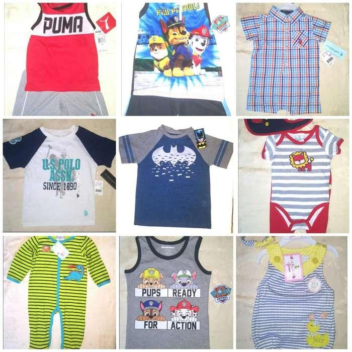 Ropa para bebes, niños y niñas