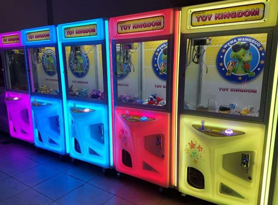 Gruas de Peluche a Porcentaje Arcade