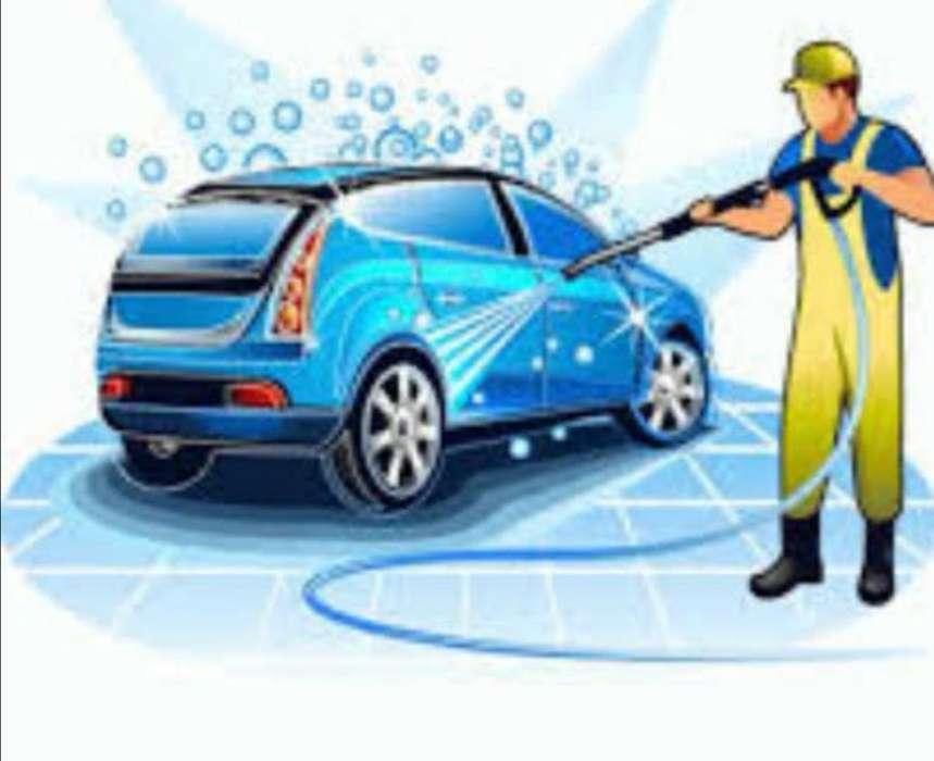 Lavador de Autos con experiencia